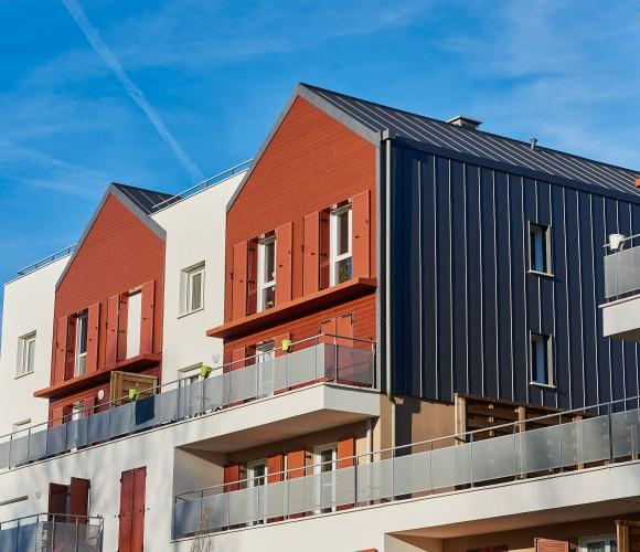 Ecoquatier Eau Vive immeuble de logement