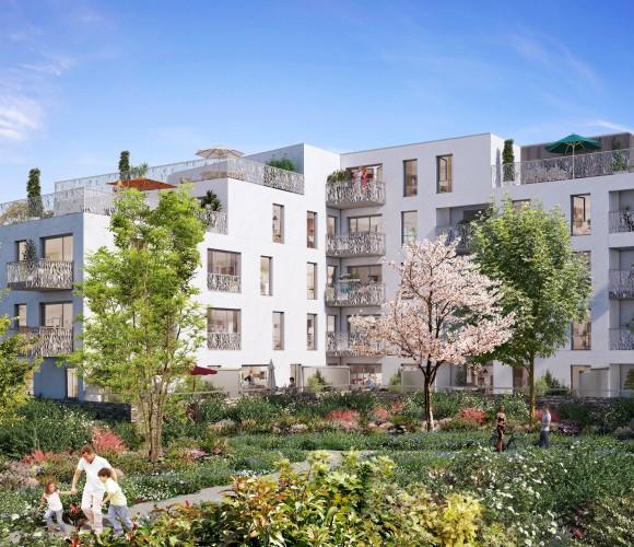 """arboretum de chanteloup logements Cogedim """"Les Alisiers"""