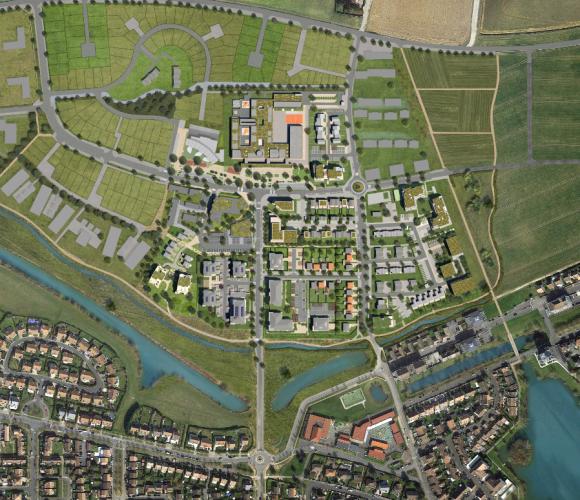 Plan masse de l'Arboretum de Chanteloup