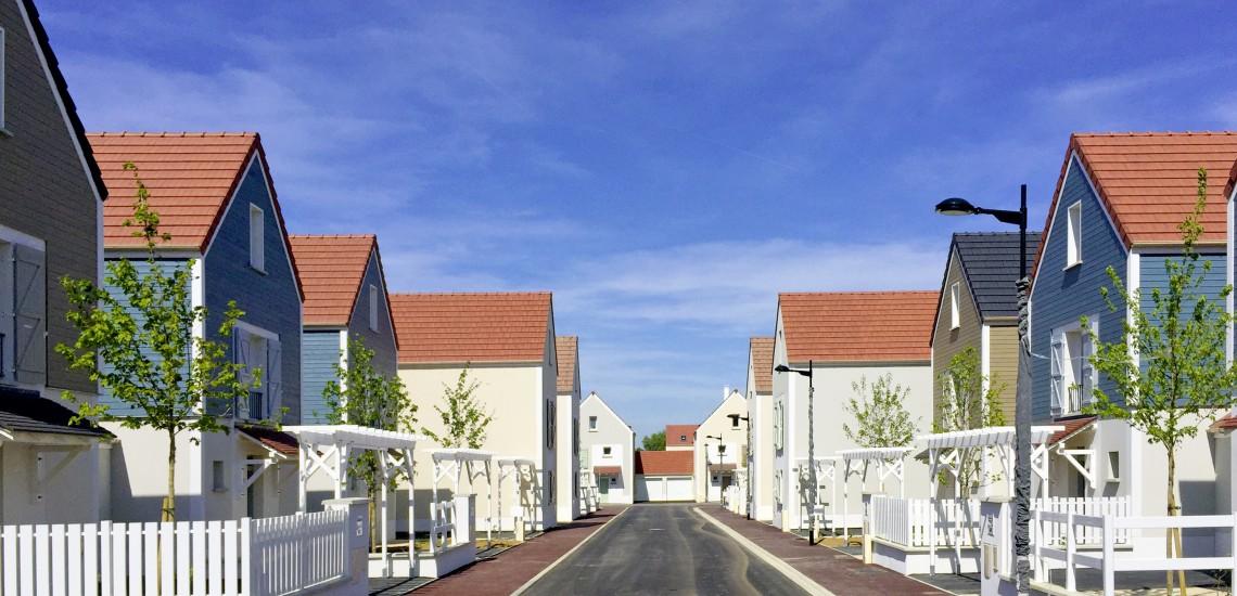Des maisons scandinaves au cœur du quartier de la Clé de Saint-Pierre