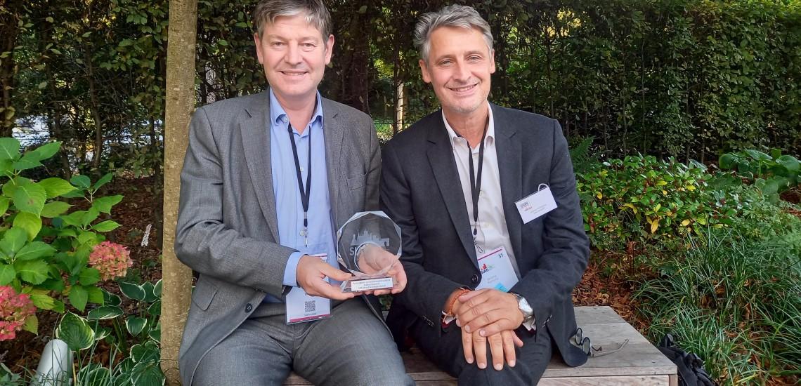 L'EPA Sénart et le groupe Elcimaï remportent un nouveau Trophée pour l'Usine du Futur