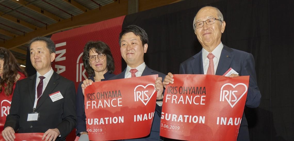 IRIS OHYAMA, leader mondial de la plasturgie, inaugure son siège France à Sénart