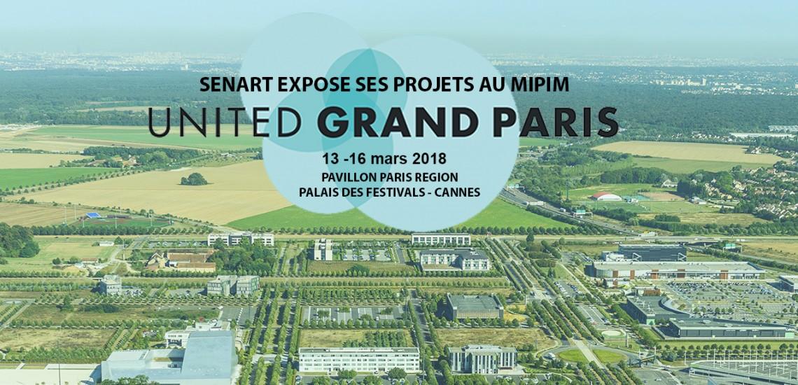 L'EPA Sénart expose ses grands projets au MIPIM 2018 à Cannes