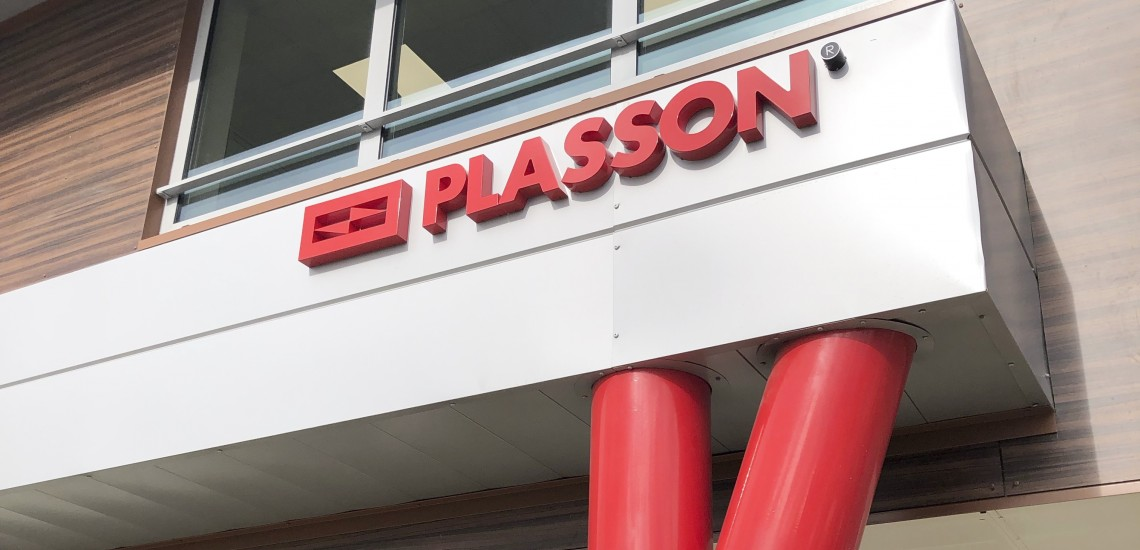 PLASSON, n°1 européen des systèmes de raccordement de tuyaux, inaugure son nouveau siège social à Sénart