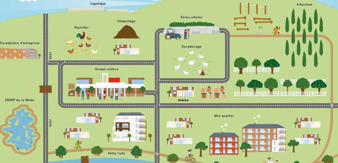 Ecoquartier de l'Arboretum de Chanteloup à Moissy-Cramayel : lancement commercial d'une opération inédite de logements