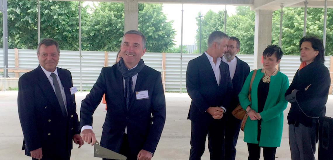 Pôle santé du Carré Sénart à Lieusaint : le chantier officiellement lancé !