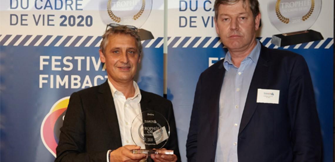 Elcimaï et l'EPA Sénart remportent le Trophée Or Fimbacte pour l'Usine du Futur 4.0