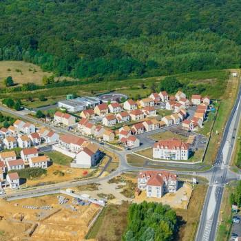 Quartier de Nandy la Foret
